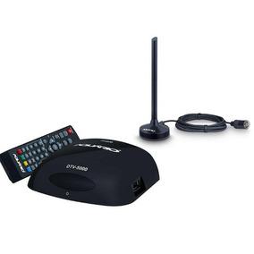 Kit Conversor Digital Dtv 5000 + Antena Dtv Dtv100p 4k