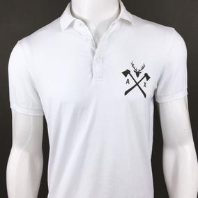 0c23f5f12de Camisa Polo Branca Médico Armani Empório Original Importada