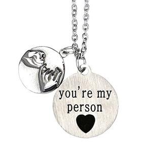 O.riya No Esta Todo Sin Usted Usted Es Mi Persona Collar C