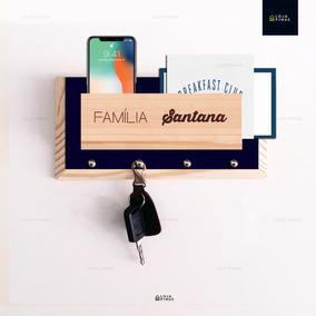 Porta Chaves E Cartas Nome Da Família