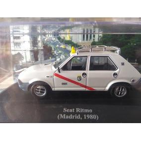 Miniatura Seat Ritmo, Madrid 1980 - Táxis Do Mundo - 1/43