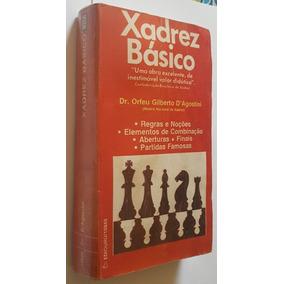 Xadrez Básico Livro Orfeu Gilberto Dagostini + Frete Grátis