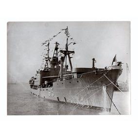 Fotografia Antiga Navio Custodio De Melo Marinha Brasil 1955