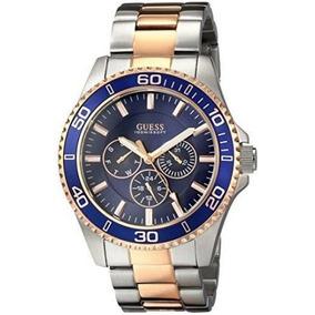 Relógio Guess W0172g3 Azul - Com Caixa E Certificado