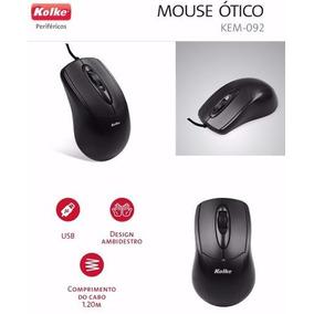 Mouse Usb Kolke Kem 092 ** Promocao Atacado 05 Pecas **