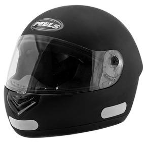 Capacete Moto Peels Spike Classic Pt Fsc Vis 2mm Antirrisco 82c60fed8d2