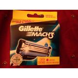Repuesto Gillette Mach3 X8 Cartuchos