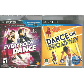 Kit Jogo Everybody Dance + Dance Broadway Midia Fisica Nota