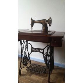 Maquina E Mesa De Costurar Antiga Singer Conservada Costura