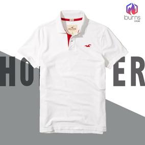 Camiseta Hollister California Gola Polo Original - Calçados c67c952b7681a