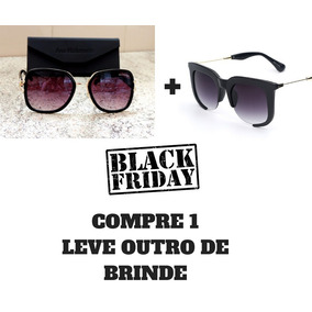Kit Oculos De Sol Ana Hickman Original Feminino + Brinde 10d9f0719a