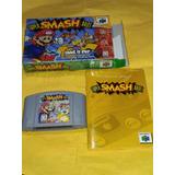 Super Smash Bros Nintendo 64 N64 C/ Caja Y Manual