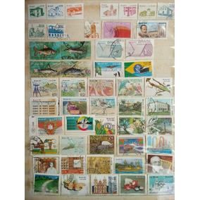 Conjuntos 2 -selos Brasil Anos 80/90