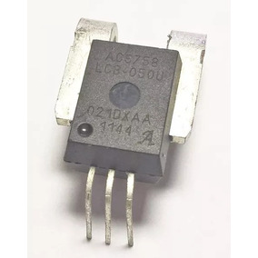 Acs758 Sensor Acs758lcb-050u 50a Unidirecional Hall