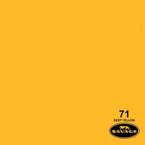 Ciclorama De Papel Deep Yellow #71 Savage