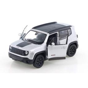 Carrinho Jeep Renegade Trailhaw Branco - Ferro E Fricção