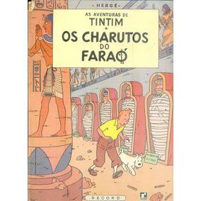 *sll* Gibi Tintim Charuto Do Faraó Capa Dura Editora Reco