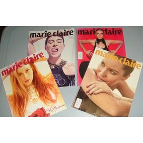 Marie Claire - Lote Com 8 Revistas
