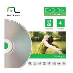 Midia Dvd-rw Vel. 04x Envelope Dv064 Multilaser