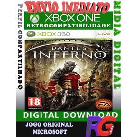 Dantes Inferno Xbox One Mídia Digital Roraima Games