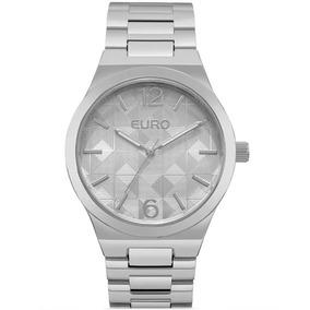 b1817218b7c Relogio Feminino Euro Prata - Relógio Euro Feminino no Mercado Livre ...