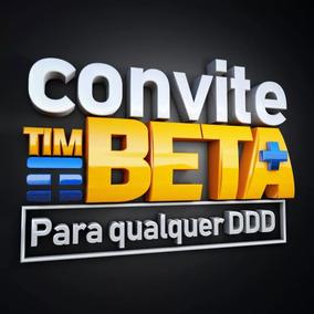 Convite Ou Migração Tim Beta Até 35gb + 2.000 Min - Beta Lab