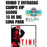 Entradas Al Show De Tini 13dic