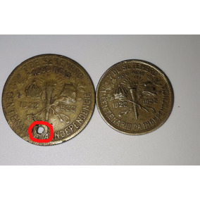 500 E 1000 Réis 1° Centenário Da Indepência 1822-1922