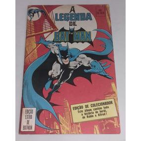Hq A Legenda De Batman - Edição Extra (1991) - Ebal