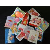Tarjetas Vintage Ositos Cariñosos-frutillitas-rana Rene-rb