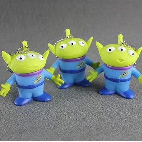 3 Bonecos Aliens Pizza Planet - Alienígenas - Toy Story