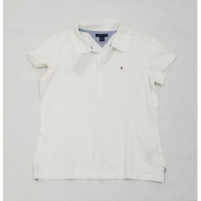 Playera Polo Tommy Hilfiger, Mediano, Blanco.