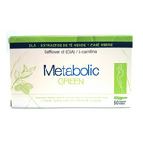 Metabolic Green Cla Cafe Verde L-carnitina 60caps
