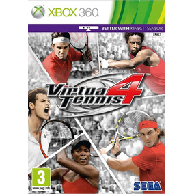 Game Xbox 360 Virtua Tennis 4 - Original - Novo - Lacrado