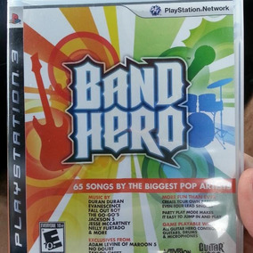 Jogo Guitar Hero Band Hero Ps3 Playstation 3