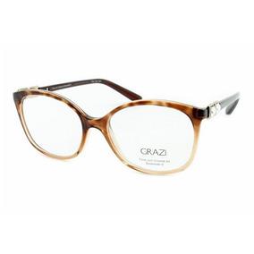 Armacao De Oculos Feminino Grazi Massafera - Óculos no Mercado Livre ... 4f0fbec4f1