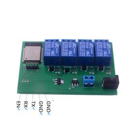 Esp32s 4 Módulo De Relé De Canal Wifi Bluetooth/usb