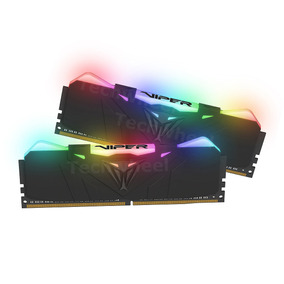Memoria Patriot Viper Rgb 16gb (2x8) Ddr4 3200mhz Gamer 12x