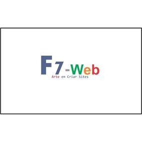 Criação De Sites, Web Designer, Front-end, Back-end