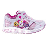 Zapatillas Con Luces Shopkins Footy #604 #605 Mundo Manias