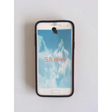 Capa Samsung Galaxy S5 Mini Acrílico Com Branco