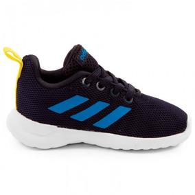 Tenis adidas Lite Racer Cln I Azul Marino Bebe 2651569