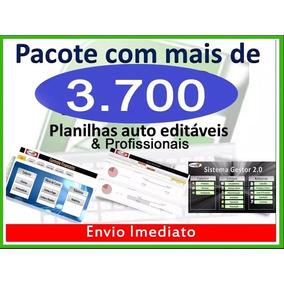 3.700 Planilhas Excel E Vba Profissionais - Envio Imediato