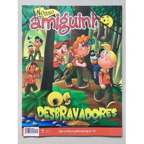 Lote 02 - 10 Revistas Nosso Amiguinho - Os Desbravadores