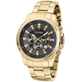 #kit Relógio Citizen Dourado Tz20448u An8083-51e + Óculos