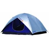 Barraca Camping Luna 6 Pessoas Com Proteção 9039 Mor
