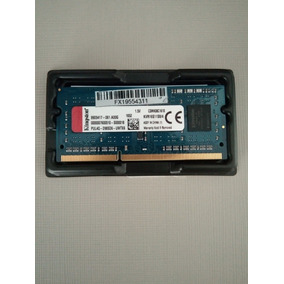Memória Para Notebook Kingston 4gb 1600mhz Ddr3 Kvr16s11s8/4