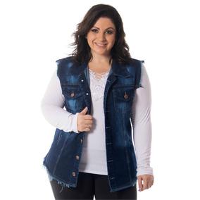 Colete Jeans Plus Size G1 G2 G3 G4 G5