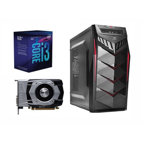 Pc Gamer Intel I3 8100 Gtx 1050ti 4gb 8gb De Ram Ssd 120