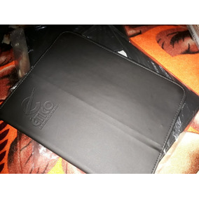 Capa De Couro Para Tablet 10.1 Preta